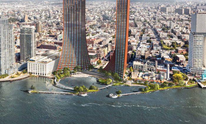 New Yorku více otevře své nábřeží obří kruhovou promenádou sparkem