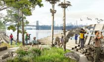 Projekt River Street v New Yorku od BIG a James Corner Field Operations