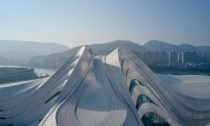Changsha Meixihu International Culture & Arts Centre od Zaha Hadid Architects