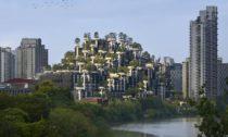 Rezidenční projekt 1000 Trees v Šanghaji od Heatherwick Studio