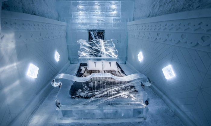 IceHotel seporoce otevřel s15 novými pokoji od33 umělců ze 16 zemí světa