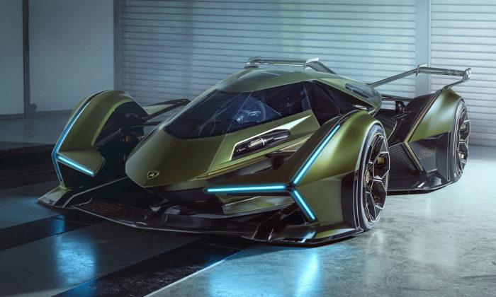 Lamborghini Lambo V12 jevizionářský koncept navržený pro Gran Turismo