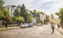 Relax Rezidence v ulici Na Cihlářce podle návrhu MVRDV