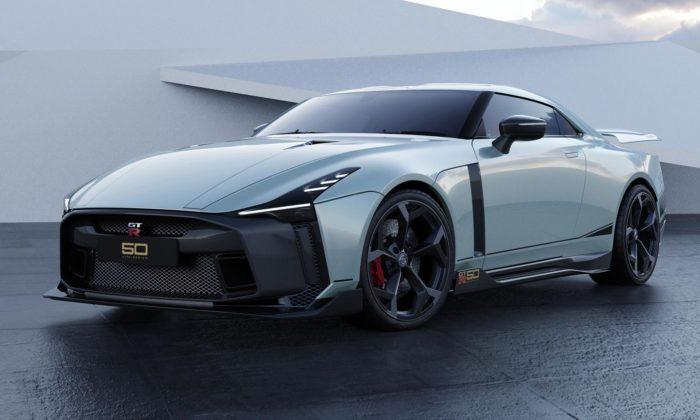 Nissan GT-R50 odstudia Italdesign jde dovýroby vlimitovaném počtu 50 kusů