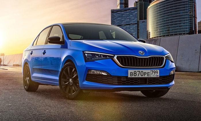 Škoda ukázala modernizovaný model Rapid určený pro jiné trhy než český