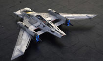 Tri-Wing S-91x Pegasus Starfighter navržený automobilkou Porsche