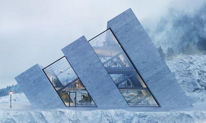 Polská architektka navrhla domy inspirované logy slavných značek