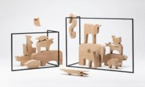 Dřevěná stavebnice 16 Animali