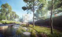 Schválený projekt Motolské údolí odA69 architekti