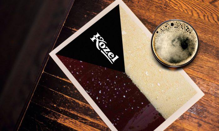 Art Lebedev navrhli identitu pro ruskou distribuci českého piva Kozel