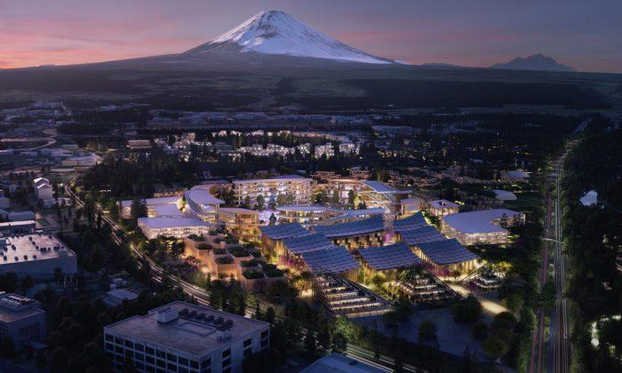 BIG navrhli pod horu Fuji futuristické město budoucnosti Toyota Woven City