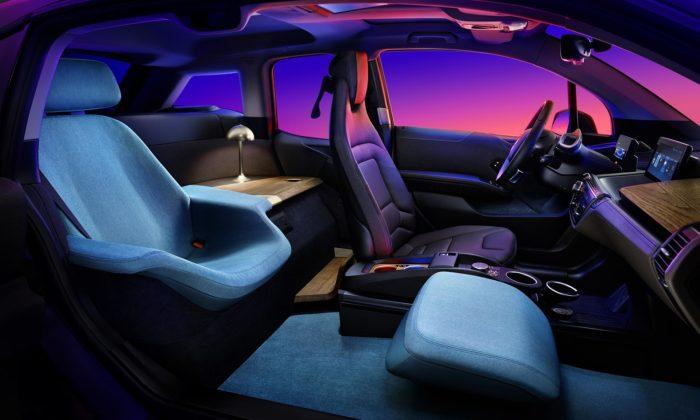 BMW i3 Urban Suite jemalý hotelový pokoj načtyřech kolech