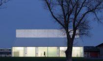 Novostavba dílen v obci Opatov od Atelieru 111 architekti