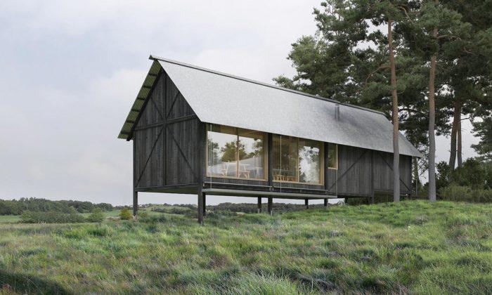 Dánsko postaví naokraji města Aarhus stylový domov pro veterány