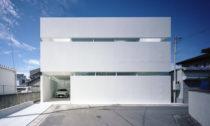 Dům ve městě Takamatsu od FujiwaraMuro Architects