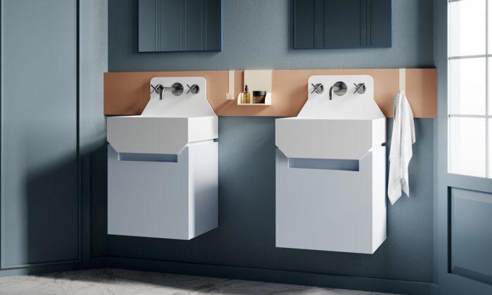 Marcante Testa navrhli koupelny inspirované popartem Roy Lichtensteina