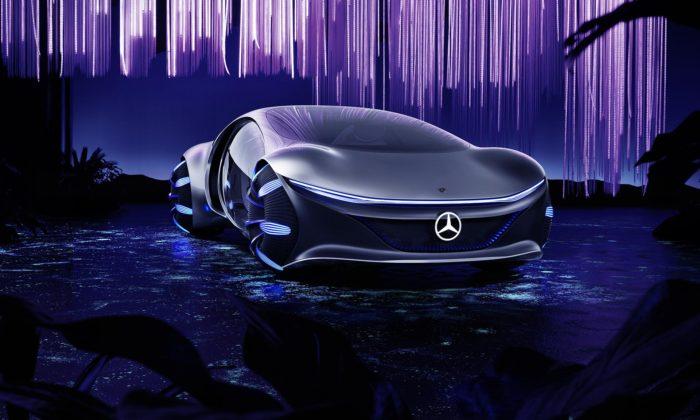 Mercedes-Benz sespojil sfilmem Avatar apředstavil futuristický Vision AVTR