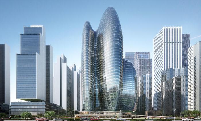 Zaha Hadid Architects postaví futuristické sídlo značce Oppo