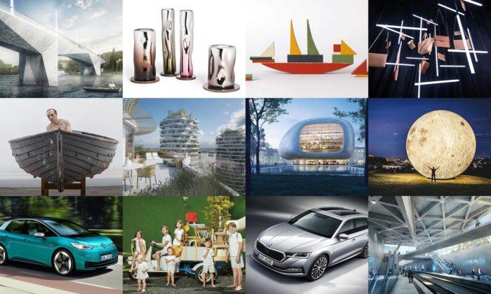 Rok 2019 byl veznamení oslav designu ivelkých českých projektů