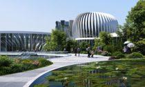 Zaha Hadid Architects a projekt Unicorn Island v čínském městě Chengdu