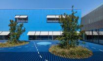 Multifunkční komplex ve městě Vaulx-en-Velin od Dominique Coulon & associés