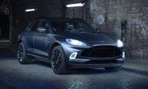 Aston Martin DBX vespeciálním provedení oddivize Q