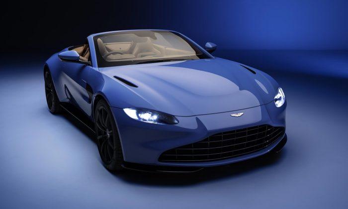 Aston Martin představil otevřený Vantage Roadster sesklápěcí střechou