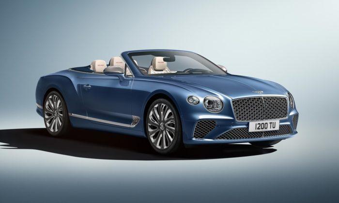 Bentley uvádí otevřený Continental GT Mulliner Convertible seskládací střechou