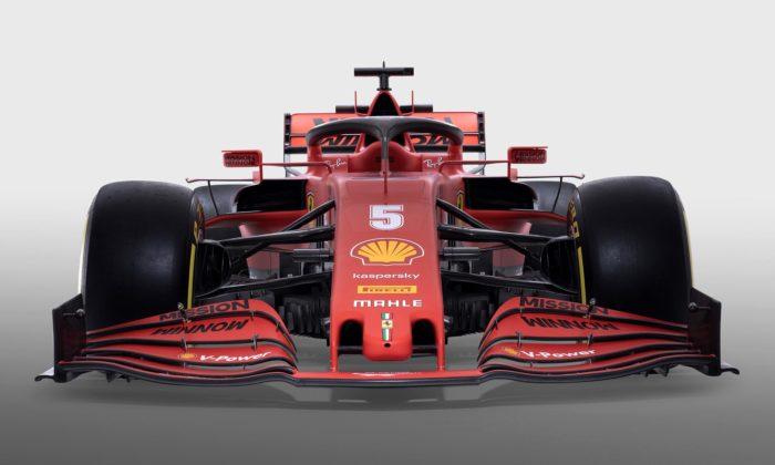 Ferrari ukázalo modernizovaný monopost Formule1 soznačením SF1000