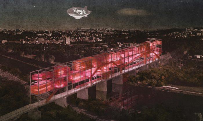 Čeští aslovenští studenti architektury vystavují vPraze návrhy utopických měst