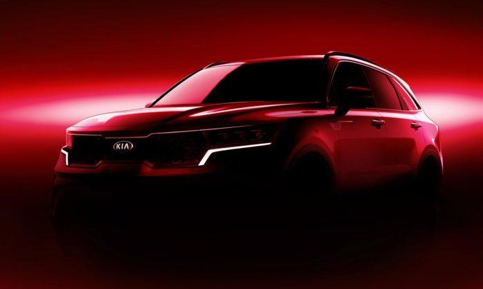 Kia dala čtvrté generaci modelu Sorento ostřejší linie aatraktivnější design