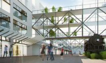 Návrh plánované konverze Nákladového nádraží Žižkov v Praze