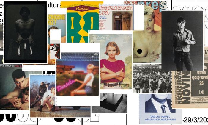 UPM připomíná kus historie české vizuální kultury zlet 1985 až 1995