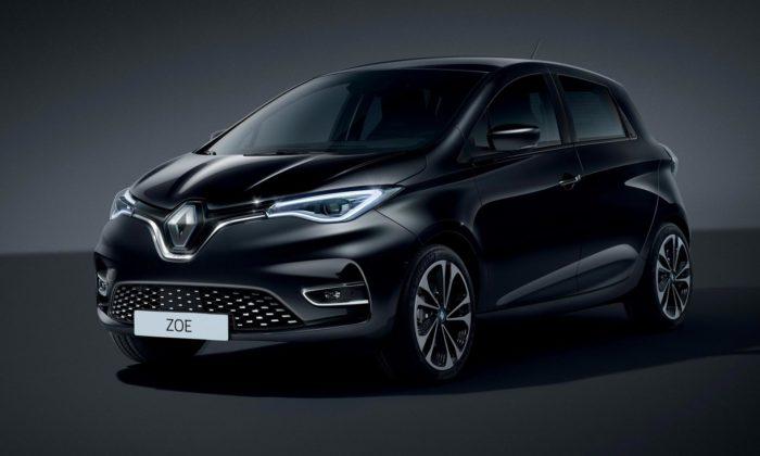 Renault Zoe přichází smodernizovaným designem ajiž jen jako elektromobil