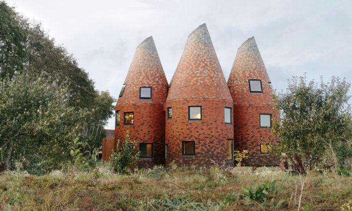 Rodinný dům vKentu jeinspirován historickými sušárnami chmele