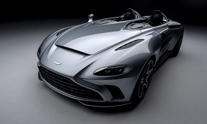 Aston Martin vytvořil stíhačkou inspirovaný sporťák V12 Speedster