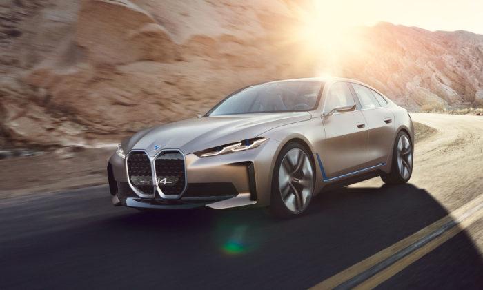 BMW Concept i4 jepředobraz plánovaného sériového Gran Coupé naelektřinu