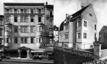 Bohuslav Fuchs: Rekonstrukce Schwanzova paláce a Dům Domina Pavlíčka