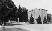 Bohuslav Fuchs: Obřadní síň Ústředního hřbitova