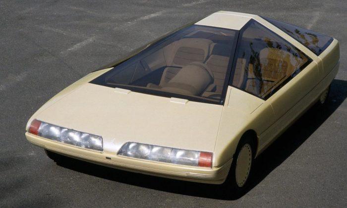 Odvážný koncept Citroën Karin stvarem komolého jehlanu slaví 40 let