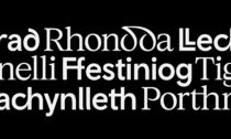 Smörgåsbord ajejich písmo Cymru Wales avizuální identita pro Wales