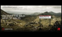 Smörgåsbord a jejich písmo Cymru Wales a vizuální identita pro Wales