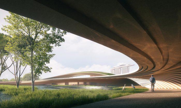 Singapur postaví napočest zakladatelů organicky tvarovaný památník sparkem