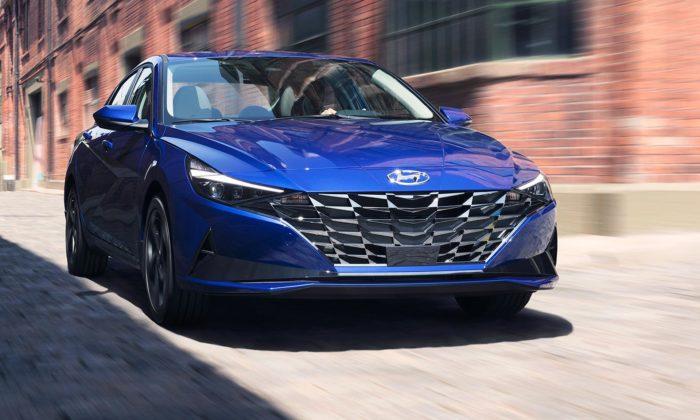 Hyundai dal sedanu Elantra nový design zdobený parametrickou dynamikou
