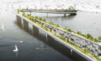Dominik Philipp Bernátek ajeho návrh mostu Living Bridge Amsterdam