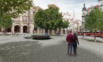 Malostranské náměstí vevítězném návrhu odtrojice architektů Martin Hájek, Václav Hájek aPetr Horský