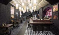 Rámen bar Taiko v Praze na Žižkově od studia Minio
