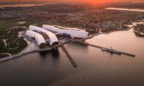 National Maritime Museum včínském městě Tchien-ťin odCOX