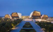 National Maritime Museum v čínském městě Tchien-ťin od COX