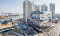 Obchodní dům The Galleria v jihokorejském Gwanggyo od OMA
